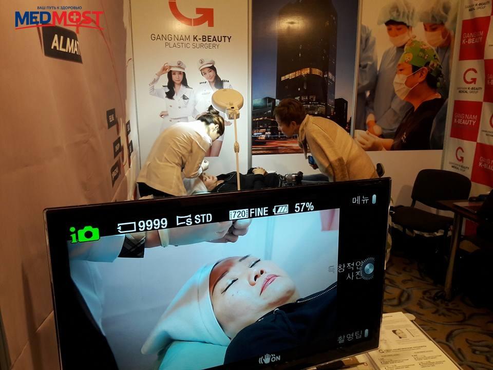 Мастер класс клиники пластической хирургии Gangnam K-Beauty